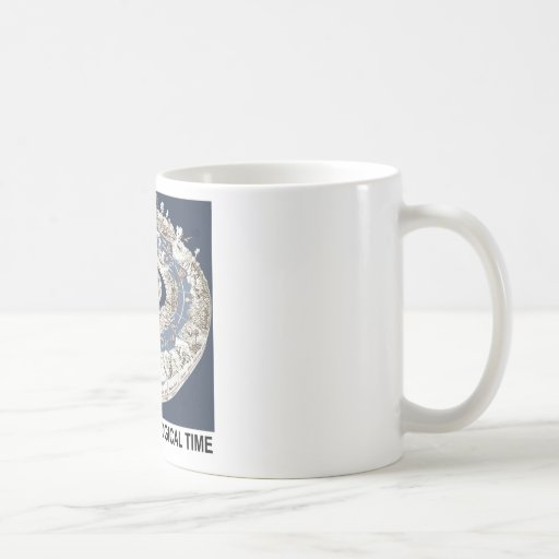 Spiral Of Geological Time (Earth's History Spiral) Coffee Mugs