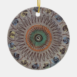 Spiral of Life Christmas Ornament