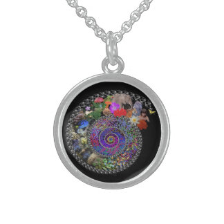 Spiral of Life Sterling Silver Necklace