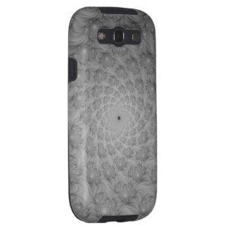 Spiral of Spirals in Monochrome Samsung Galaxy S3 Case