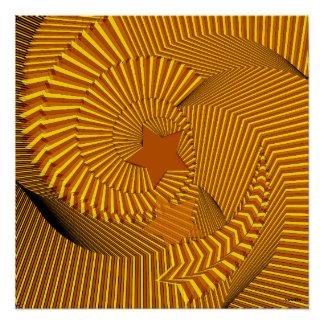 Spiral of star