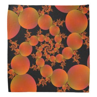 Spiral Oranges Bandana