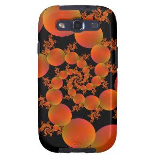Spiral Oranges Samsung Galaxy S3 Case