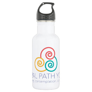 Spiral Path Yoga Water Bottle