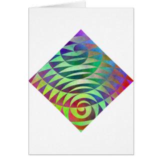 Spiral Pathways Card