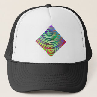 Spiral Pathways Trucker Hat