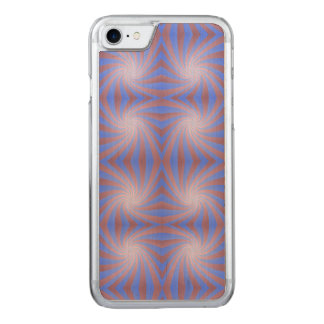 Spiral pattern carved iPhone 8/7 case