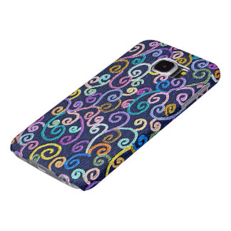 Spiral Pattern Samsung Galaxy S6 Cases