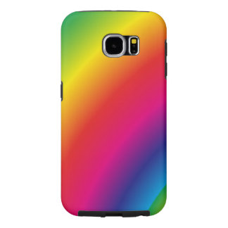 Spiral Rainbow Samsung Galaxy S6 Cases