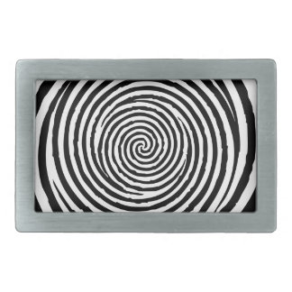 Spiral Rectangular Belt Buckle