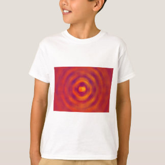 Spiral Red abstract bright colours T-Shirt