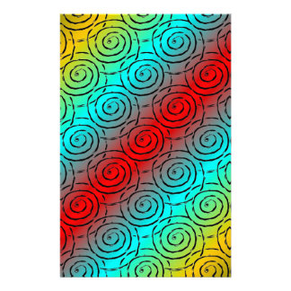 Spiral Ripple Stationery