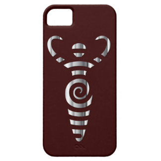 Spiral River Goddess - Chrome - 3 iPhone 5 Covers