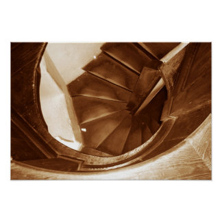 Spiral Stair Posters
