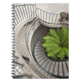 Spiral staircase at the Embarcadero Center Notebooks