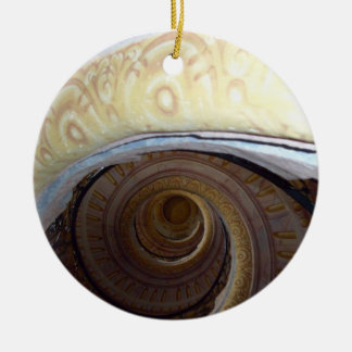Spiral staircase Melk Abby Christmas Ornament