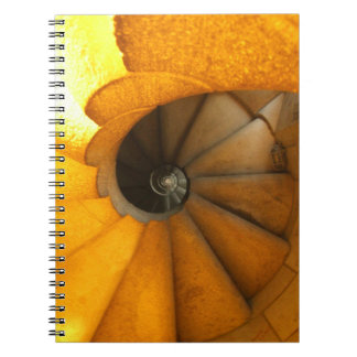 spiral staircase notebook
