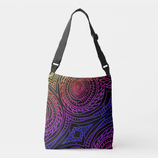 Spiral Sun Adjustable Strap Tote (Rainbow Edition)