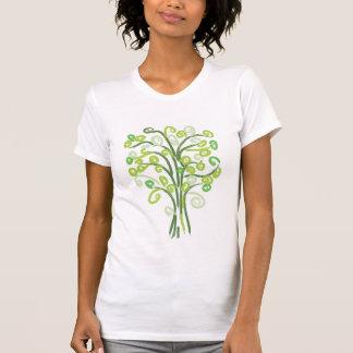 Spiral Tree T-Shirt Green