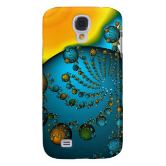 """Spiral Universe"" abstract art case"