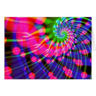 spiral: waving goodbye greeting card