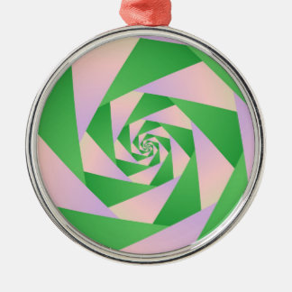 Spiral with Four Arms Ornament