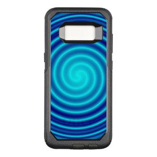 Spiraling Blue Vertigo OtterBox Commuter Samsung Galaxy S8 Case