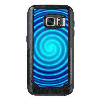 Spiraling Blue Vertigo OtterBox Samsung Galaxy S7 Case