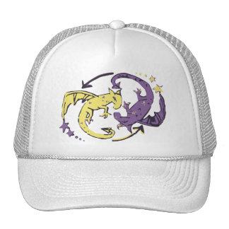 Spiraling Dragons Cap