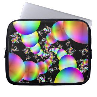 Spiraling Inwards Laptop Sleeves