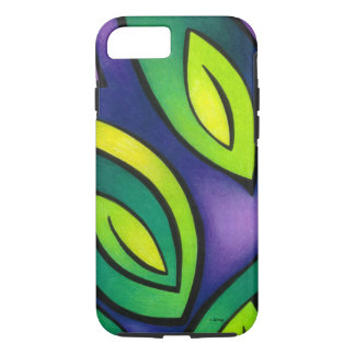 Spiraling Leaves iPhone 7 Case