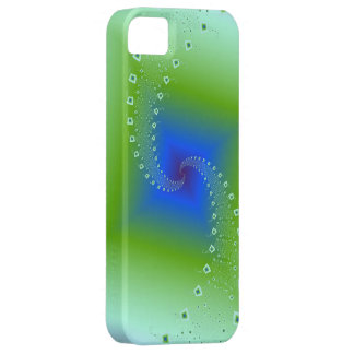 Spirals into Squares iPhone 5 Barely There iPhone 5 Case