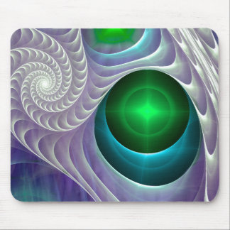 Spirals Mouse Pad