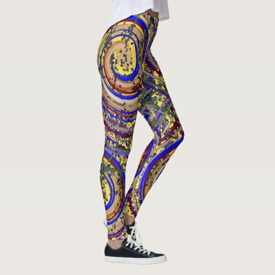 Spirals Of Joy Leggings