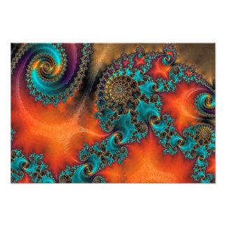 Spirals Photo Print