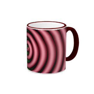 Spirals Ringer Mug