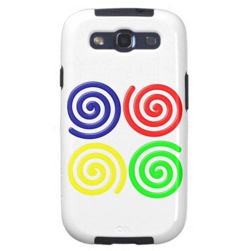 Spirals spirals galaxy s3 cover