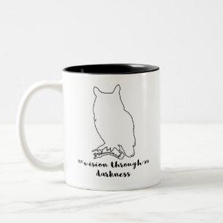Spirit Animal Owl Mug | Wisdom, Vision, Wise