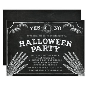 Spirit Board | Halloween Party Invitation