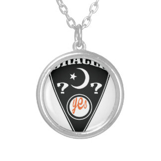 Spirit Board Yes Round Pendant Necklace