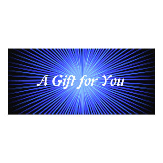 Spirit Circles gift certificate template Custom Rack Card