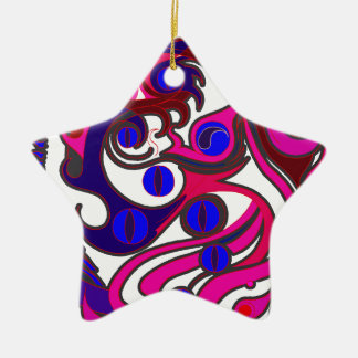 Spirit Dragon (Psychedelic) Christmas Ornament
