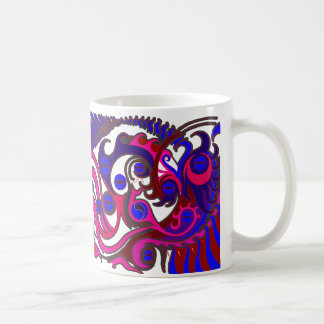 Spirit Dragon (Psychedelic) Coffee Mug
