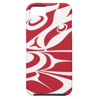 Spirit Eagle White on Red.jpg iPhone 5 Case