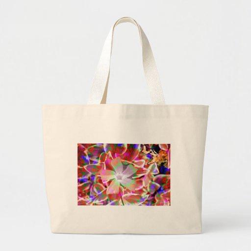 SPIRIT FLOWER.jpg Canvas Bags