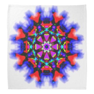 Spirit flower mandala bandana