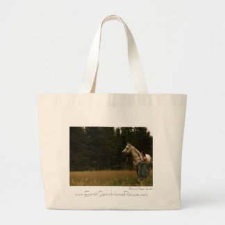 Spirit Horse and Woman Canvas Bags