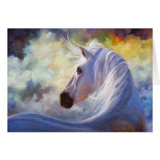 """Spirit"" Horse Greeting Card"