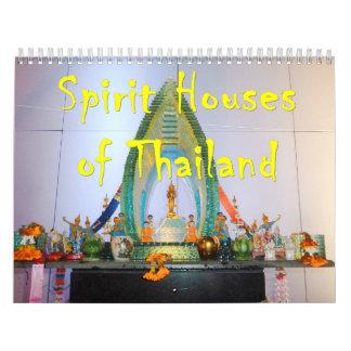 Spirit Houses of Thailand Calendars
