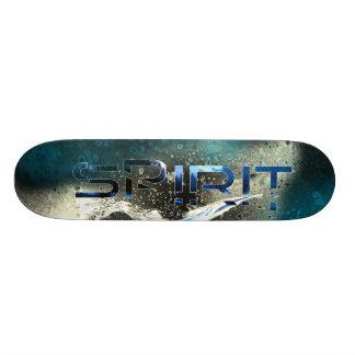 Spirit Ice Blue Skate Deck